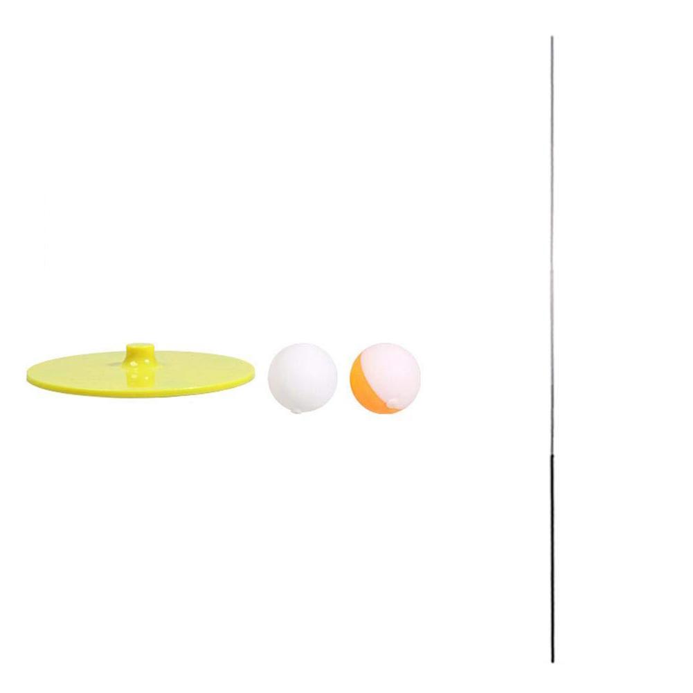 Decompression Eye Training Ball Elastic Soft Shaft Table Tennis Trainer Elastic Rod 2 balls 1 carbon rod 1 base