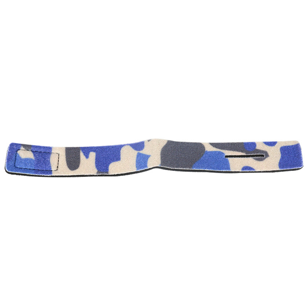 5PCS Fishing Tools Rod Tie Strap Belt Tackle Elastic Wrap Band Non-slip Firm Pole Holder Accessories  Camouflage