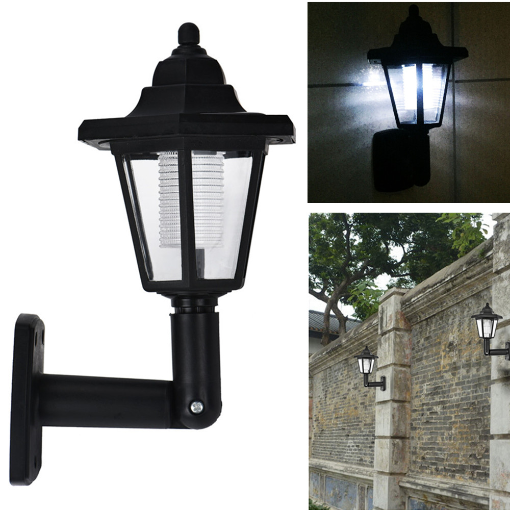 Waterproof Solar Charging Hexagonal WallLight