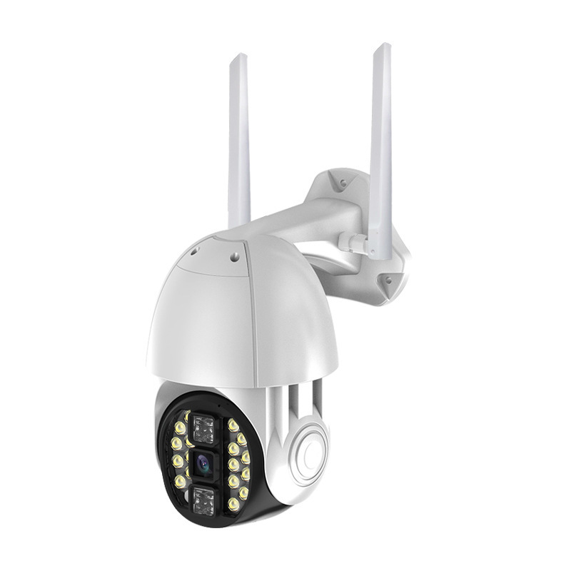 Outdoor Wireless Camera 20 Light Wireless IP Camera Full Color Night Vision Phone Remote Indoor Outdoor Waterproof Monitoring US Plug