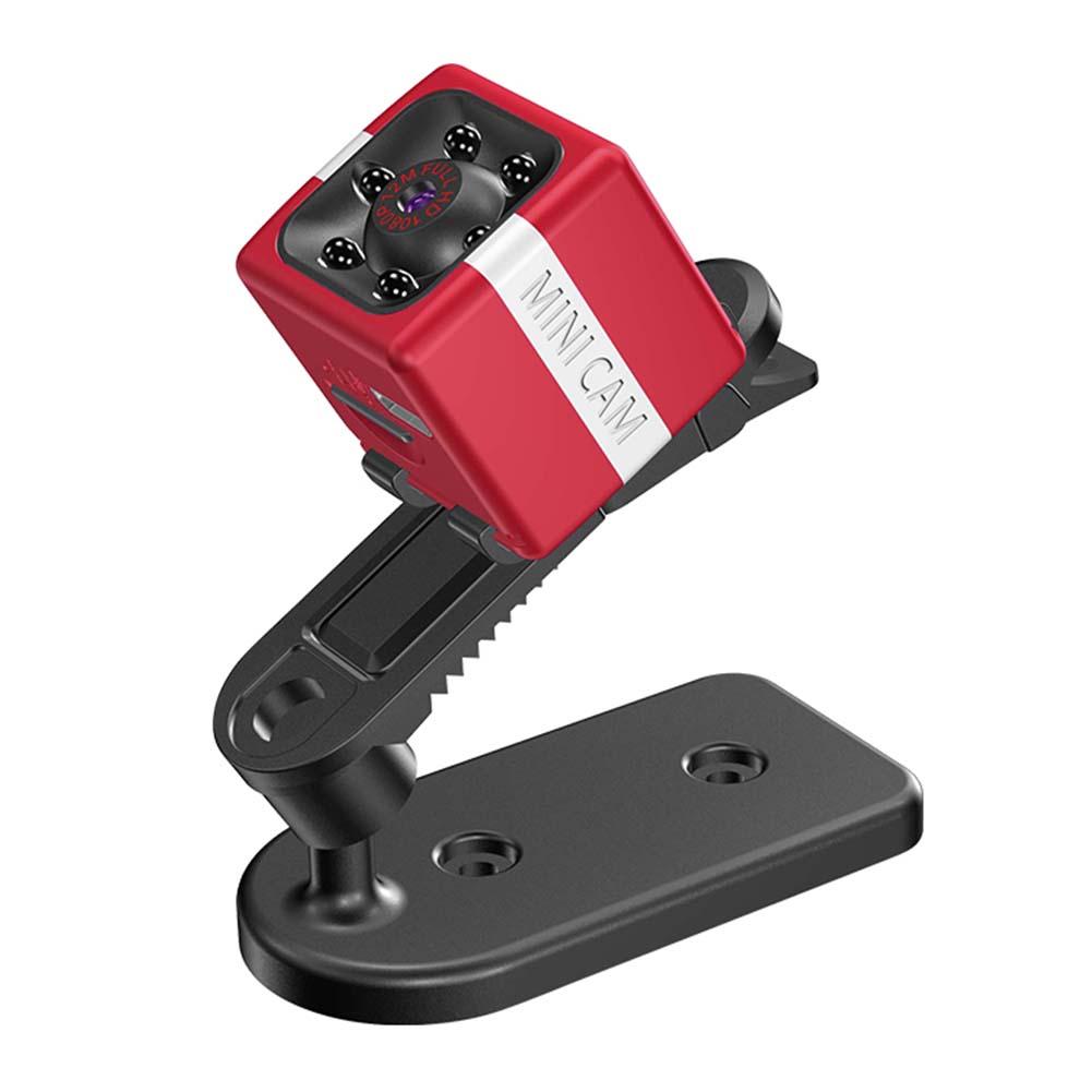 FX02 Camera HD Aerial DV Outdoor Recorder Mini Sports Camera 1080P Video Car DVR Night Vision  Red
