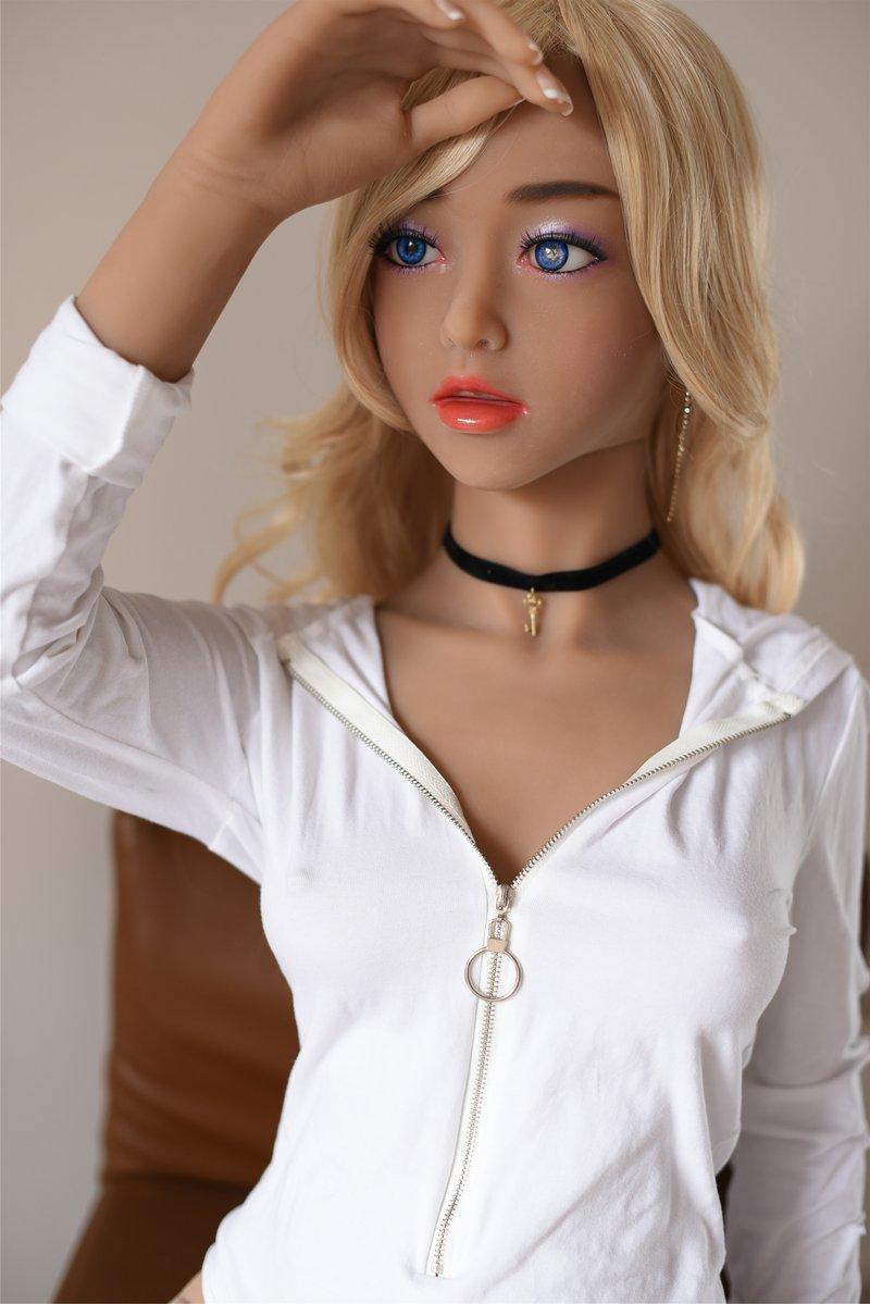 Della 156CM TPE Sex Doll otona love Brand Customizable Sexy Dolls