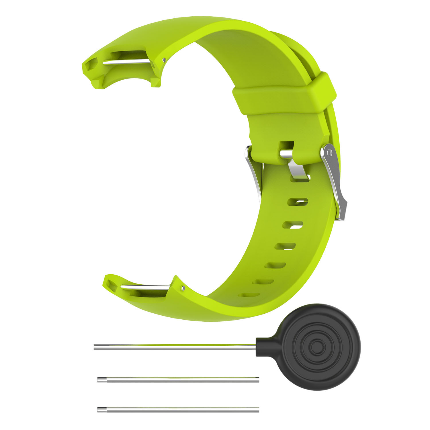 Wrist Band for Garmin Approach S3 GPS Watch Elegant Silicone Watch Strap with Tool Individualized Adjustment green