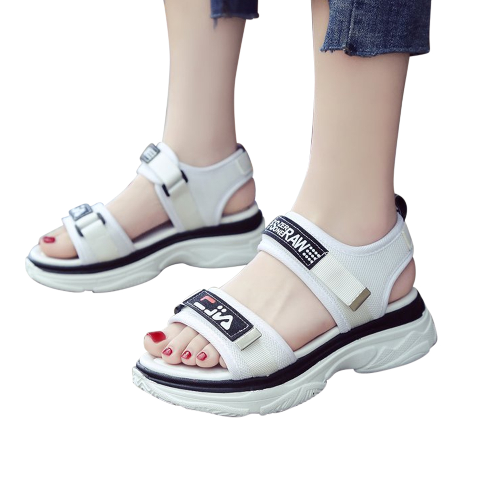 Women Breathable Magic Sticker Sandals