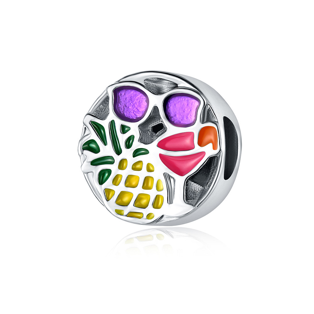 Exquisite Alloy Bead Bracelet Accessories Ornament Gift pineapple