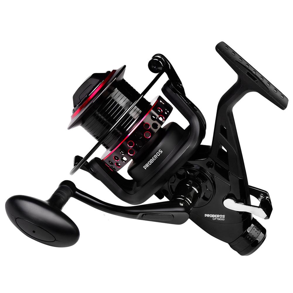 Fishing Reel Metal 13+1bb Axis Spinning Wheel Right Left Hand Fishing Line Reel Model 8000