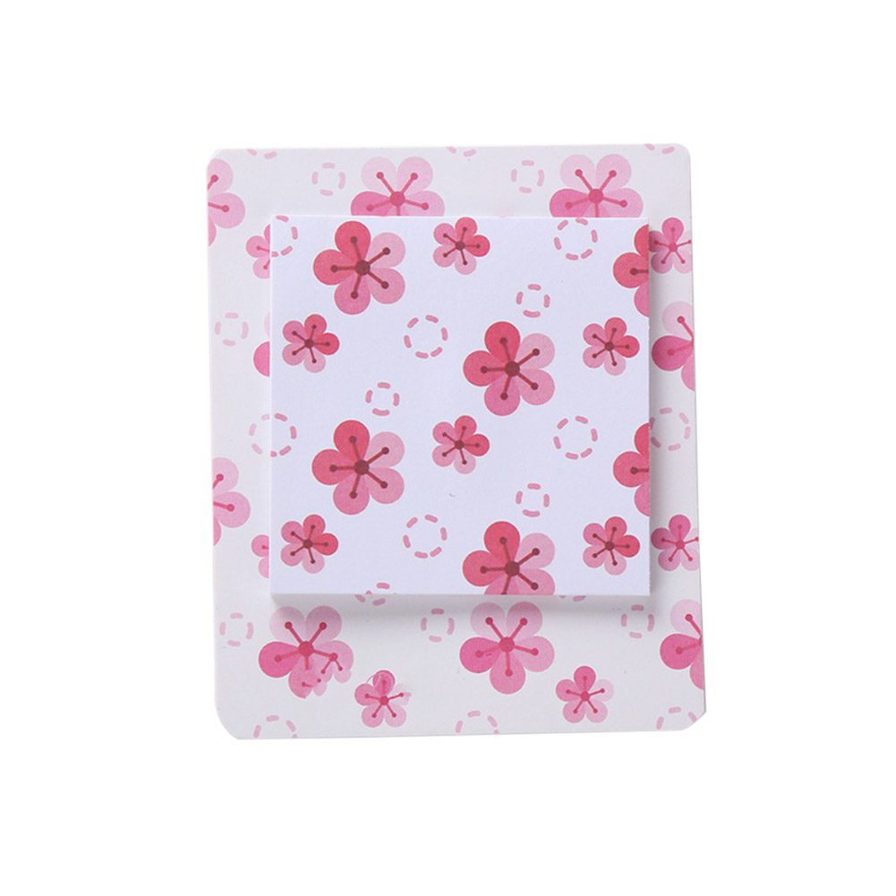 Romantic Cherry Pattern Printing Sticky Note L 116 cherry blossoming