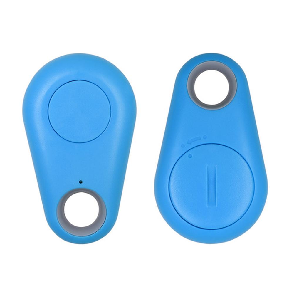304 Intelligent Remote Control Anti-lost Keychain Alarm Bluetooth Tracker Key Tag Finder GPS Locator blue