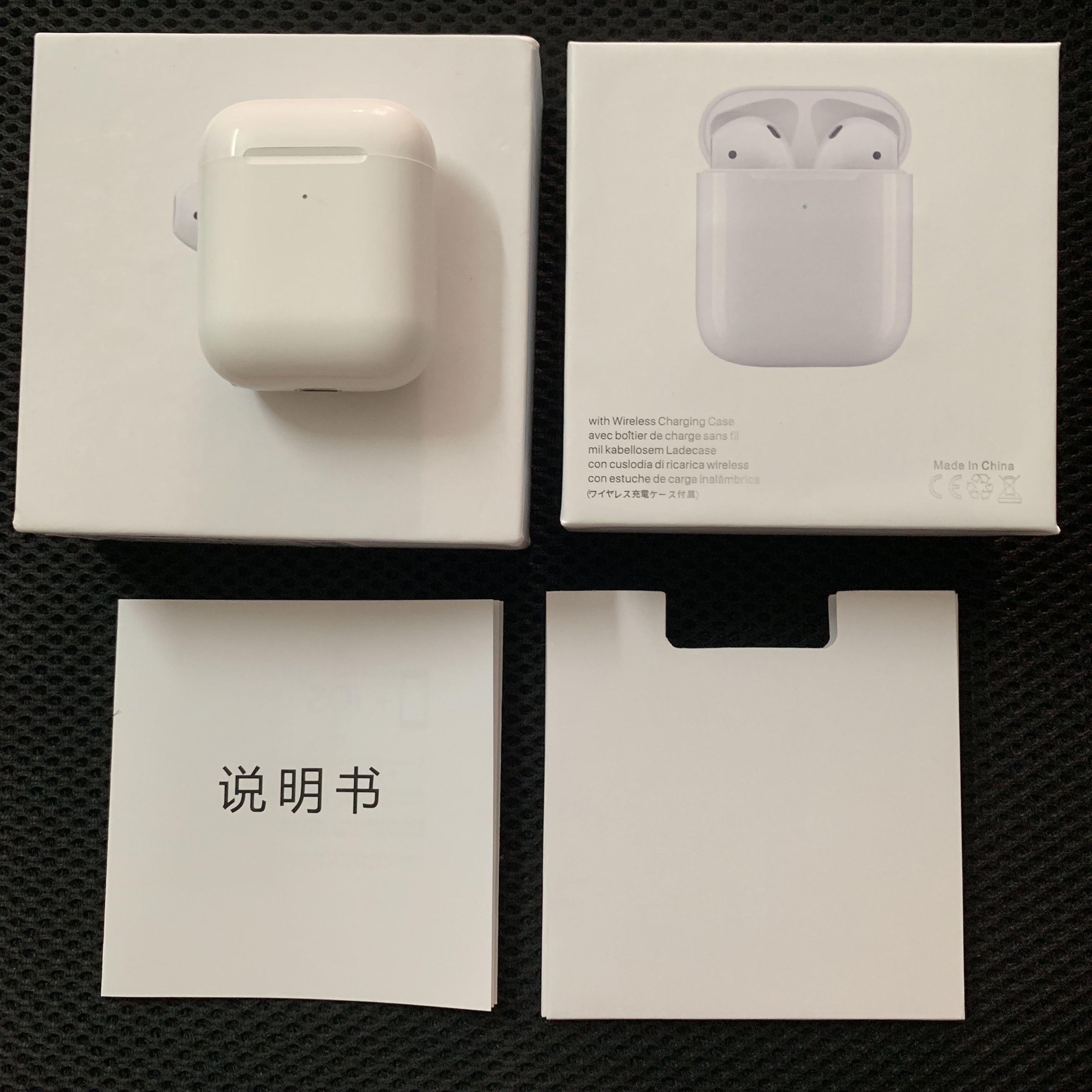 TWS Air 2 Positioning+Rename Smart Sensor Headphone Wireless Charging Bluetooth Earphone Wireless Headset Best Version Program Jerry