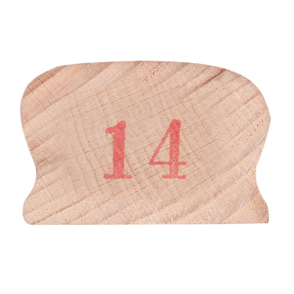 Wooden Polished Block for Guitar Bass Fret Leveling Fingerboard Luthier Tool + 2 Sandpaper 14#
