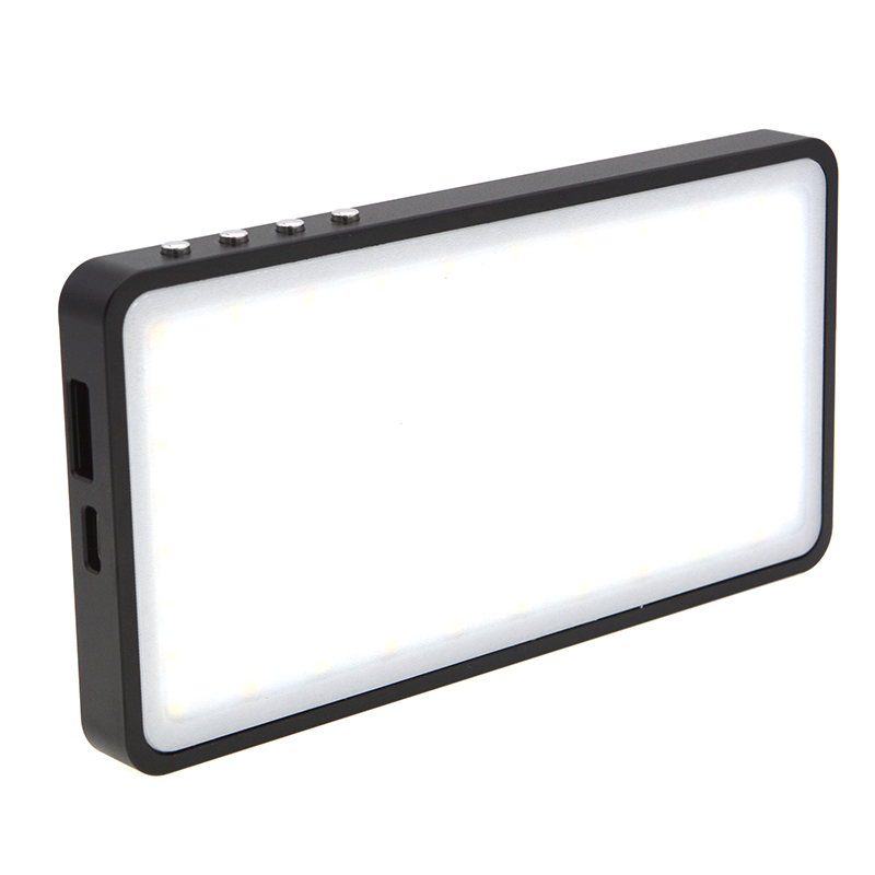 LED Video Light VELEDGE VLD-02 RGB Full-color Special Effect Photography Light black
