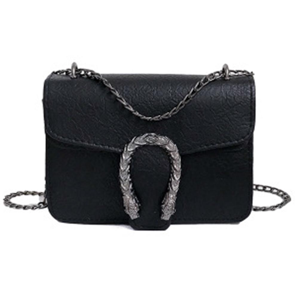 Women Retro Chain Strap Crossbody Bag Single Shoulder bag