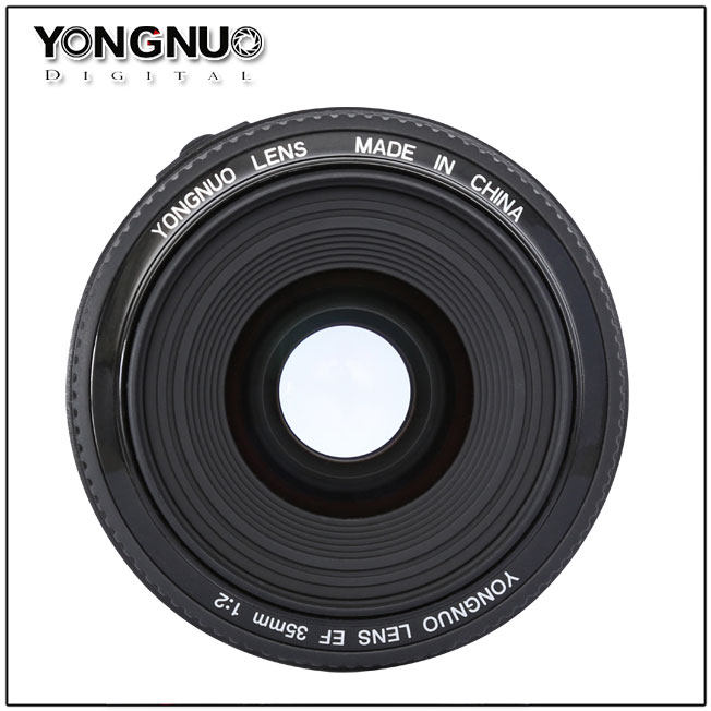 Wide-angle AF fixed focus lens---Yongnuo YN35mm F2 (Canon)