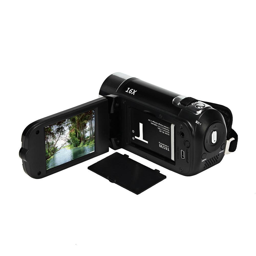 HD 1080P Camcorder Black UK PLUG