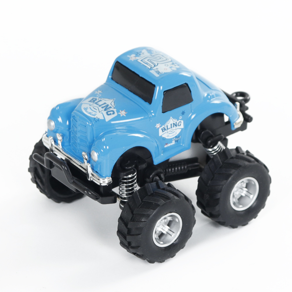 Simulate Car Q Version Alloy Pull-back Buggy 253 Model Car Toy for Boys blue