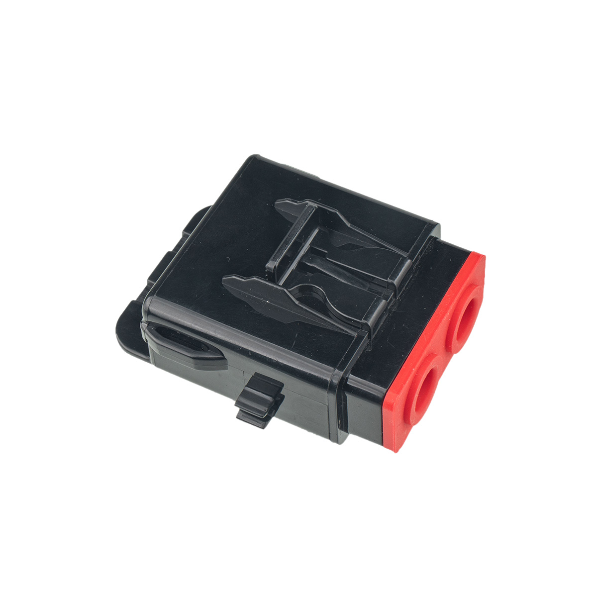 Car fuse kit AFS 60A+ATC 20A 4GA Car Fuse Holder Black+Red color with wrench Black+red