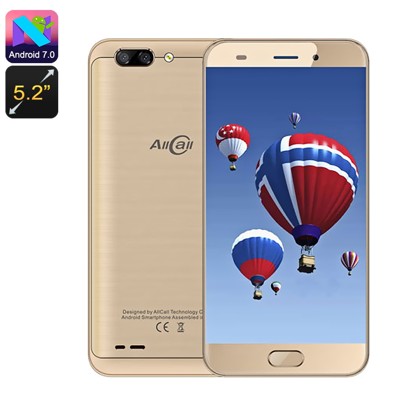 AllCall Atom Smartphone (Gold)