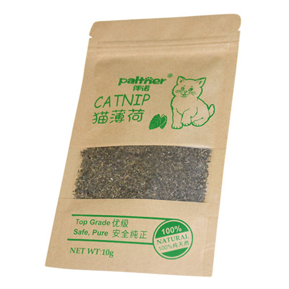 10g Organic Natural Catnip Cattle Grass Menthol Flavor Funny Cat Toys  S