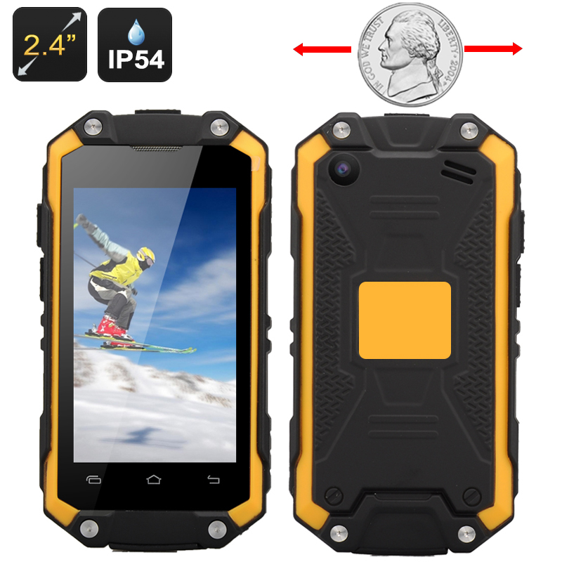 Smallest Waterproof Rugged Smartphone
