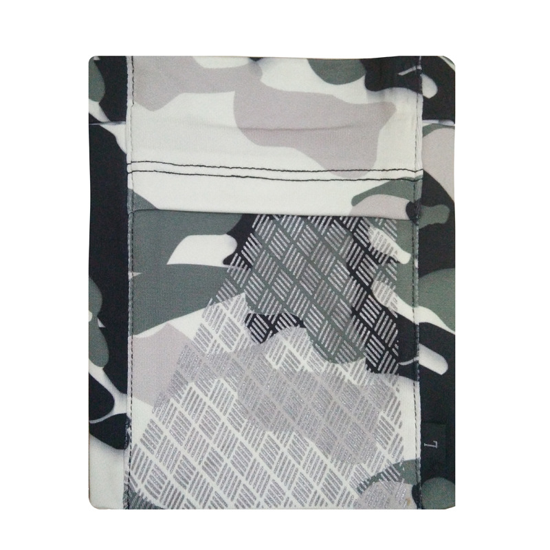 Running Mobile Phone Arm Bag Sports Arm Pocket Fitness Elastic Running Close-fitting Wrist Bag Grey camouflage