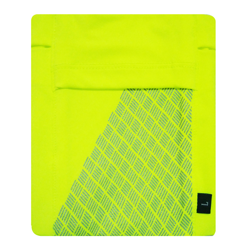 Running Mobile Phone Arm Bag Sports Arm Pocket Fitness Elastic Running Close-fitting Wrist Bag Fluorescent green