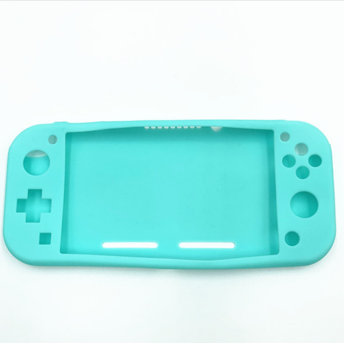 Lightweight Durable Silicone Protective Shell Case Cover for Switch Lite Host blue