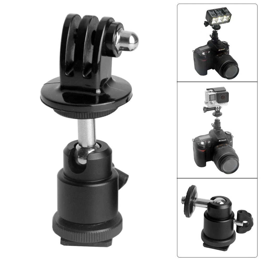 Mobile Phone 1/4 Screw Hot Shoe Adapter Photography Accessories Hot shoe gimbal + adapter
