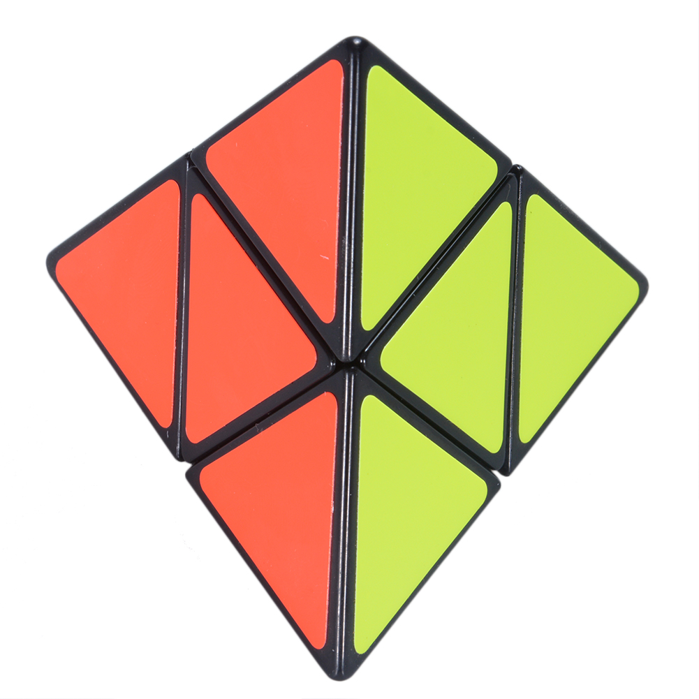 [US Direct] 2015 Newest Tops Shengshou 2X2X2 Pyraminx Speedcubing Black Cube Puzzle