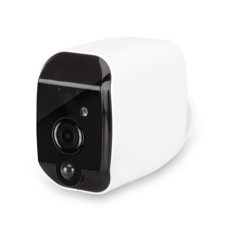 Wireless WIFI IP Monitor Camera Smart Low Consumption Waterproof Outdoor Camera T1 Black head White body