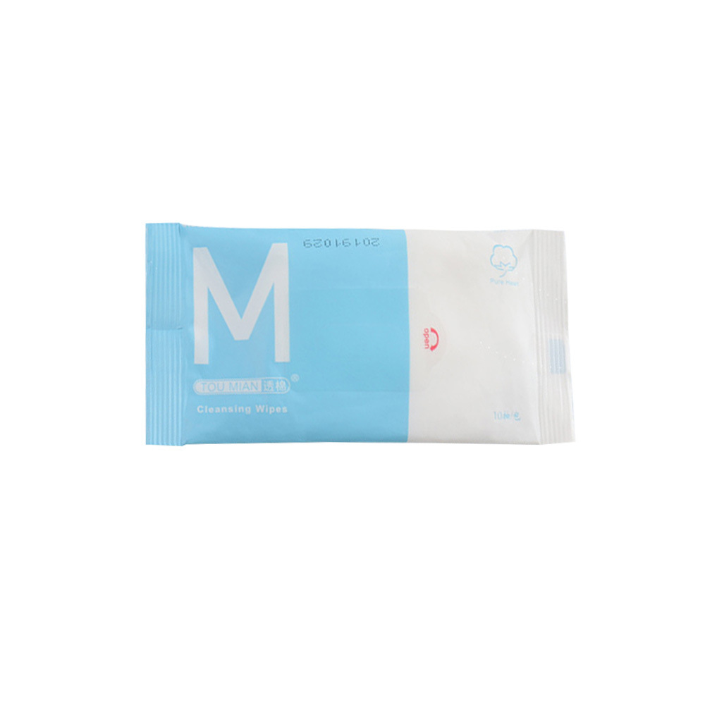 10pcs Disposable Effective Cleaning Bacteriostatic Wipes Wet Tissue Portable 10PCS