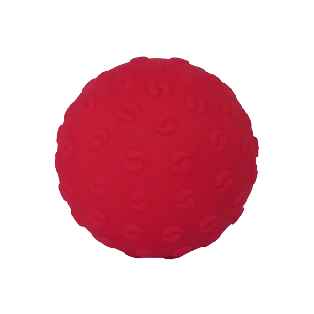 Massage Ball Lightweight Fitness Training Lacrosse Ball Body Yoga Sport Exercise Yoga Massage Ball red