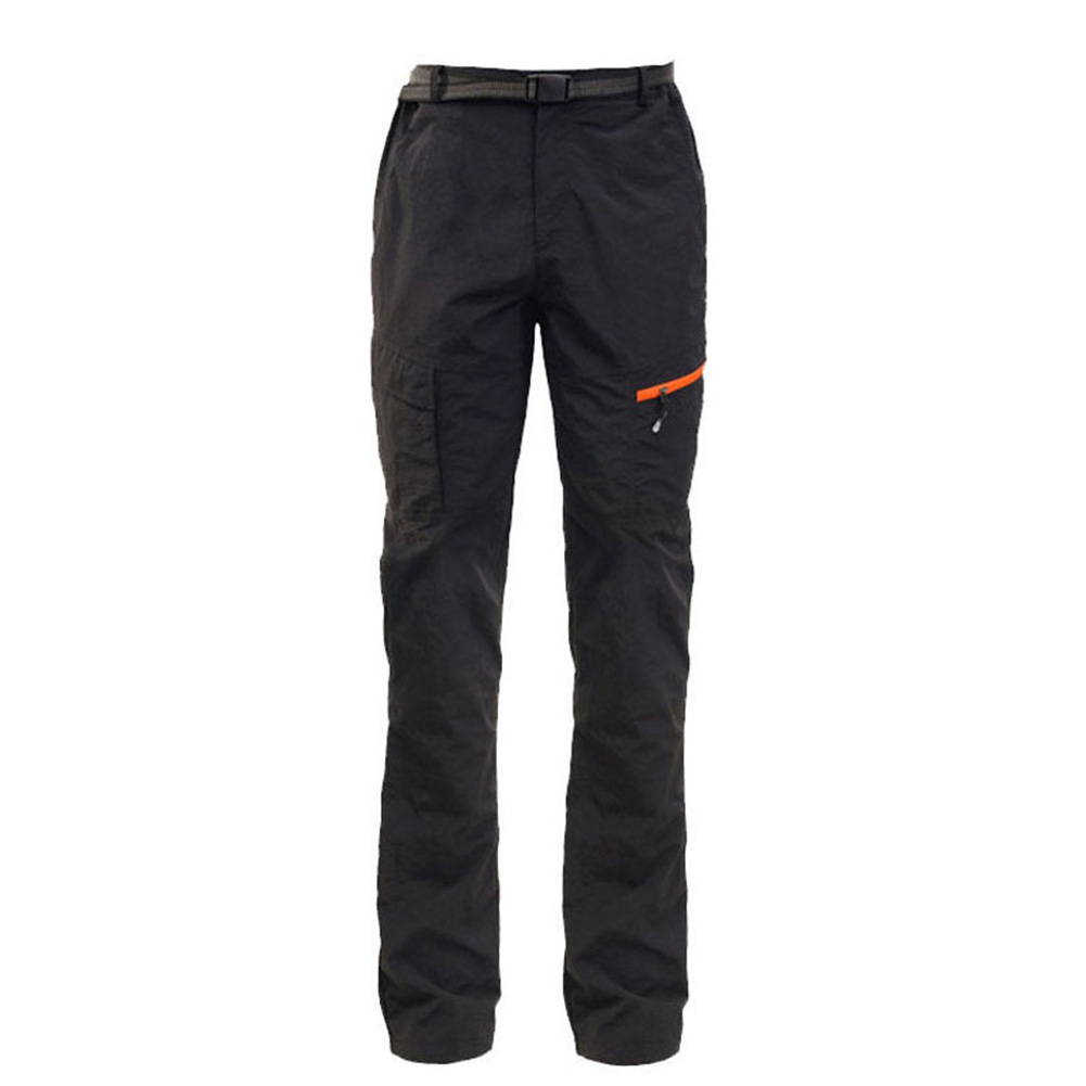 Unisex Fashion Sports Quick-drying Breathable Outdoor Fishing Leisure Tops/Pants Black pants_M
