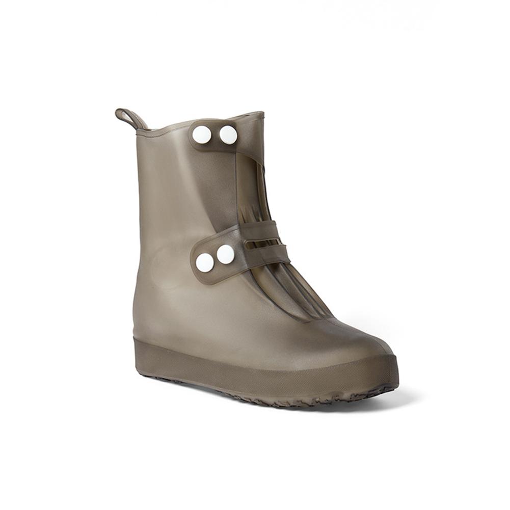 1 Pair Reusable Waterproof Shoe Covers Anti-Slip Overshoes Rain Boots