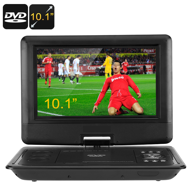 10.1-Inch Portable DVD Player