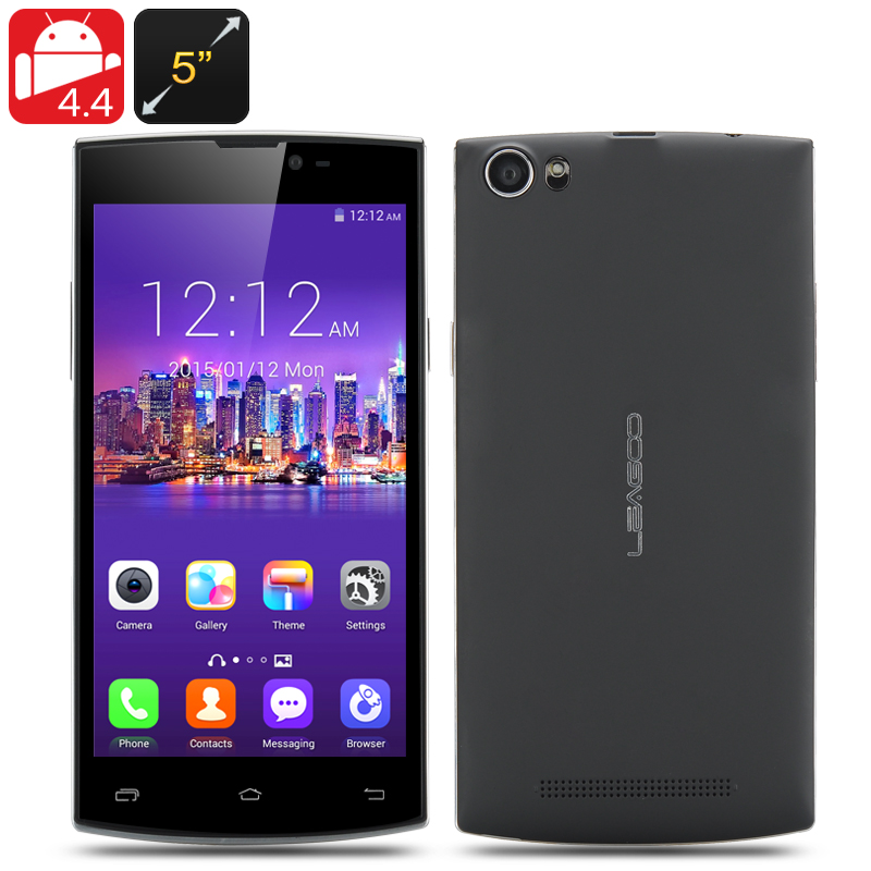 LEAGOO Lead 7 Smartphone (Black)
