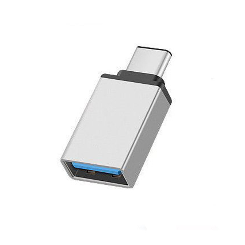 USB-C Type C 3.1 Male to USB 3.0 Type A Female Adapter Sync Data Hub OTG  Silver