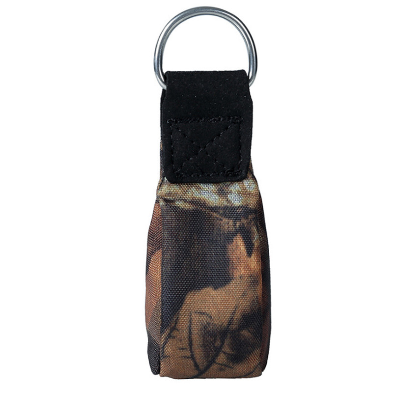 Tree Surgery Arborist Rock Climbing Throw Weight Bag Pouch Caving Rescue Safety Rope Throwing Bag Camouflage