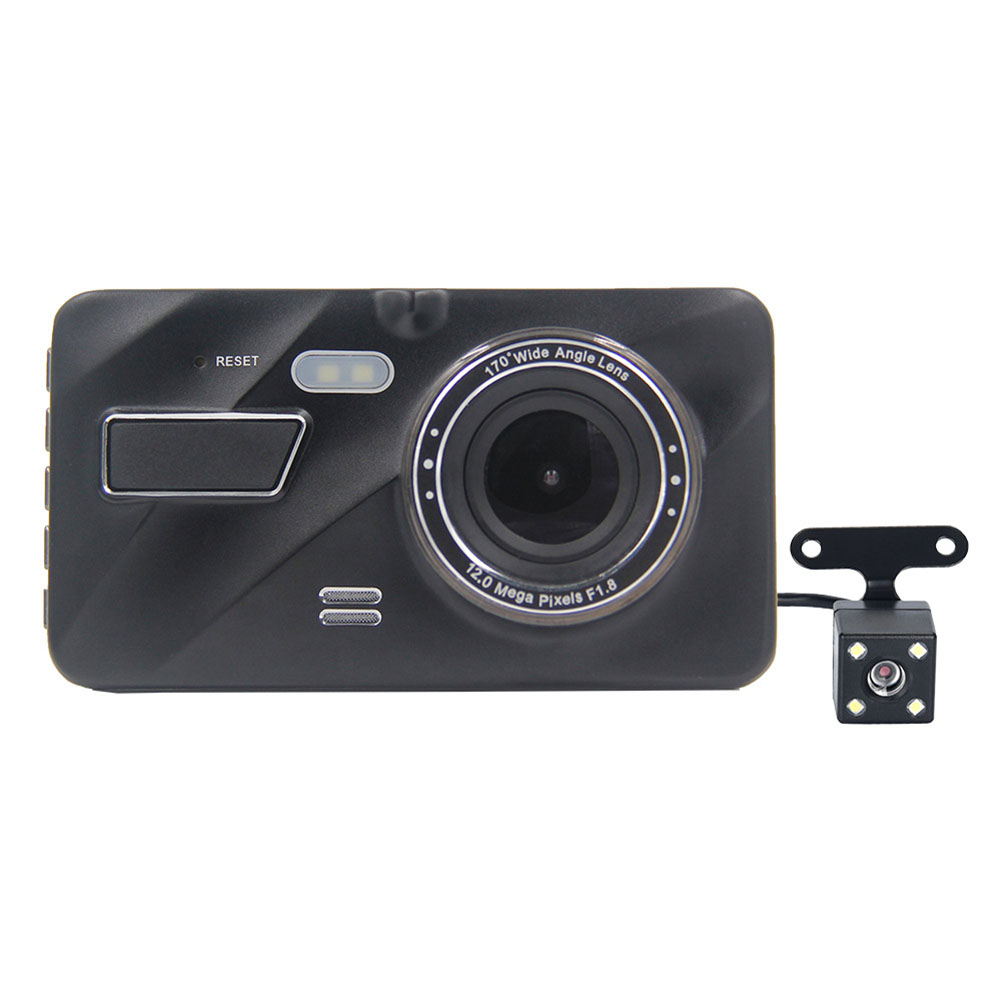 4inch Cam Dual Lens Car Camera Recorder 1080P