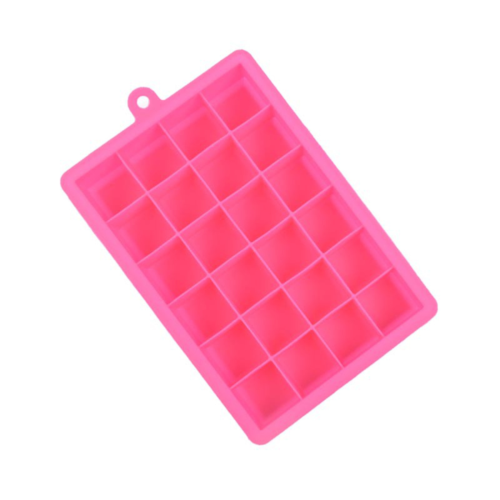 24 Grid Silicone Ice Cube Tray Molds DIY
