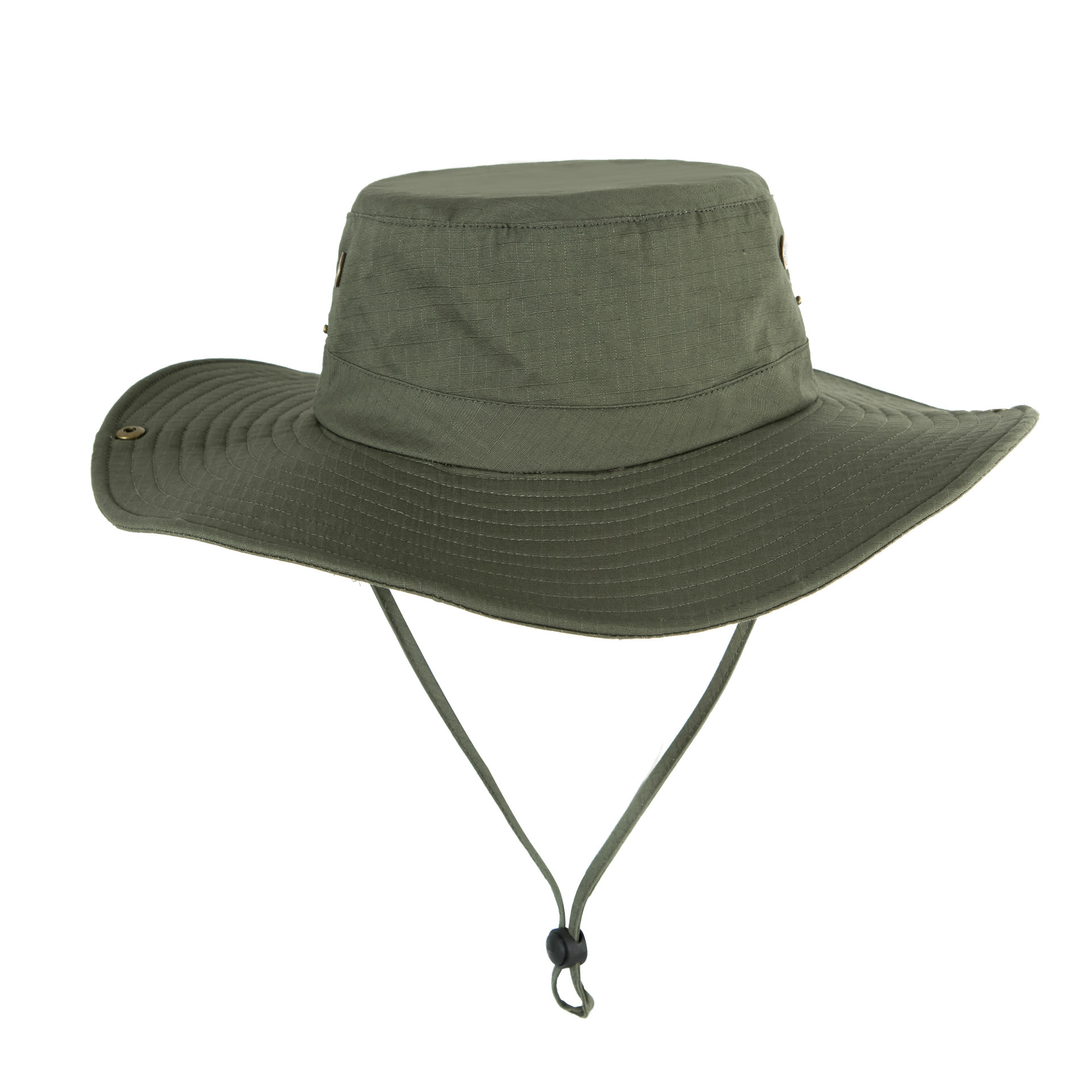 Men Women Summer Hat Outdoor Ultraviolet-proof Fisherman Hat for Travel Climbing Fishing Army Green