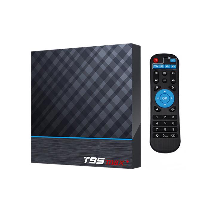 T95MAX+4GB/64GB Network High Definition Player T95MAX+Android 9.0 TV Box 4GB / 64GB UK Plug