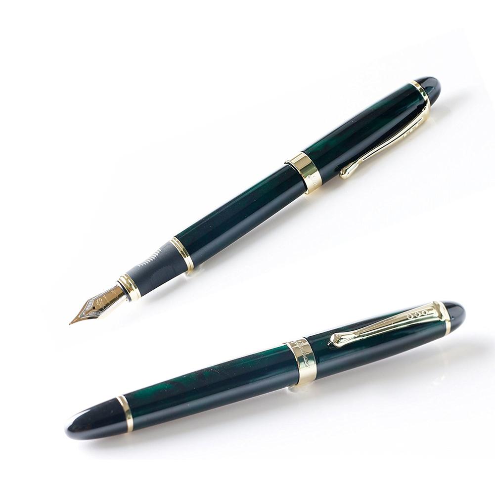 Dark Green 0.7MM Iridium Fountain Pen Practical Writing Tool School Office Supplies Gift  Dark green_0.7mm
