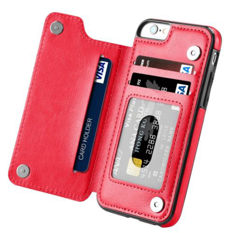 Iphone Multifunction Leather Case