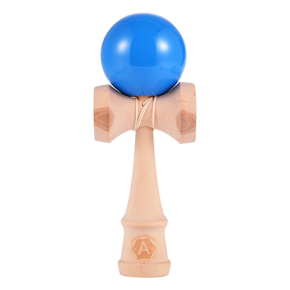[US Direct] Beech Handle PU Lacquer Sword Ball Blue light Blue