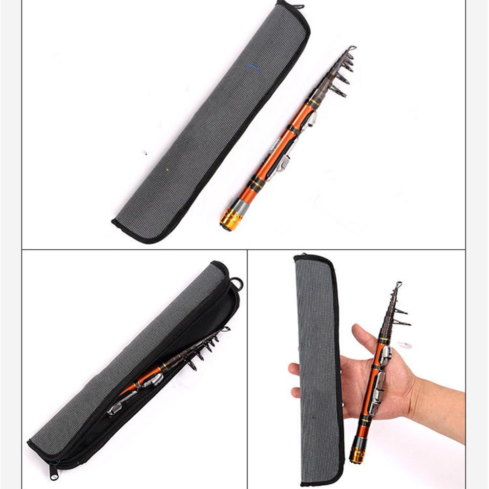 Pocket Fishing Pole Carbon Short Sections Ultra Lightweight Mini Fishing Pole Single pole