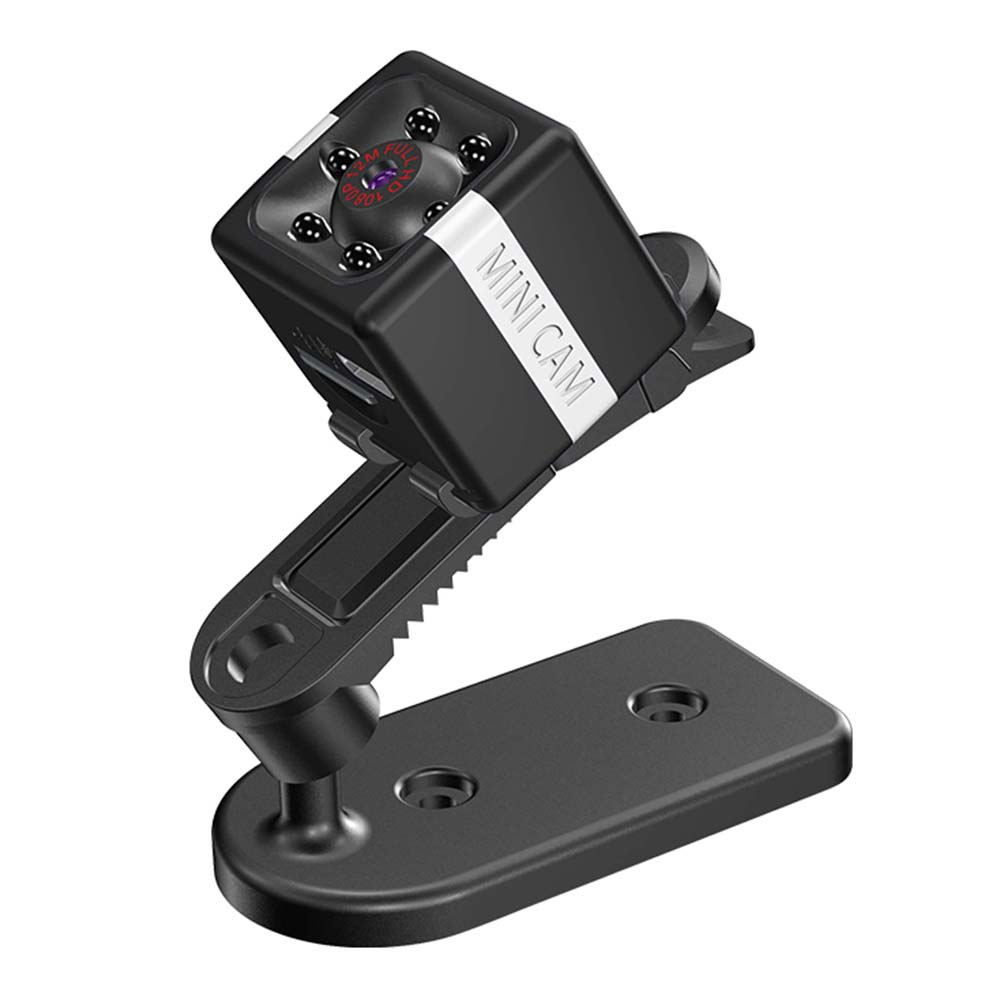 FX02 Camera HD Aerial DV Outdoor Recorder Mini Sports Camera 1080P Video Car DVR Night Vision  Black