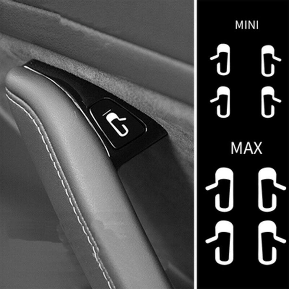 Door Opening Tips White Luminous Sticker Kit Modified Trim for Tesla Model 3 Luminous