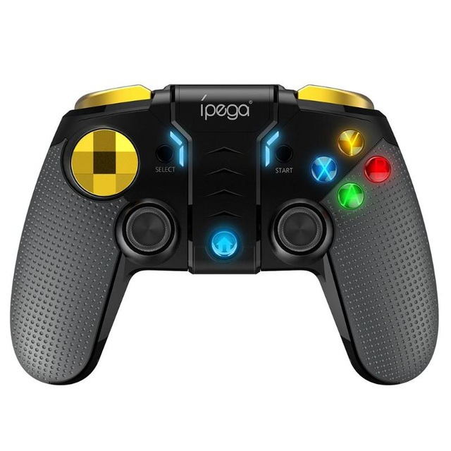 Wireless Bluetooth Gamepad Multimedia Game Controller Joystick for Games Android IOS PC Phone  As shown