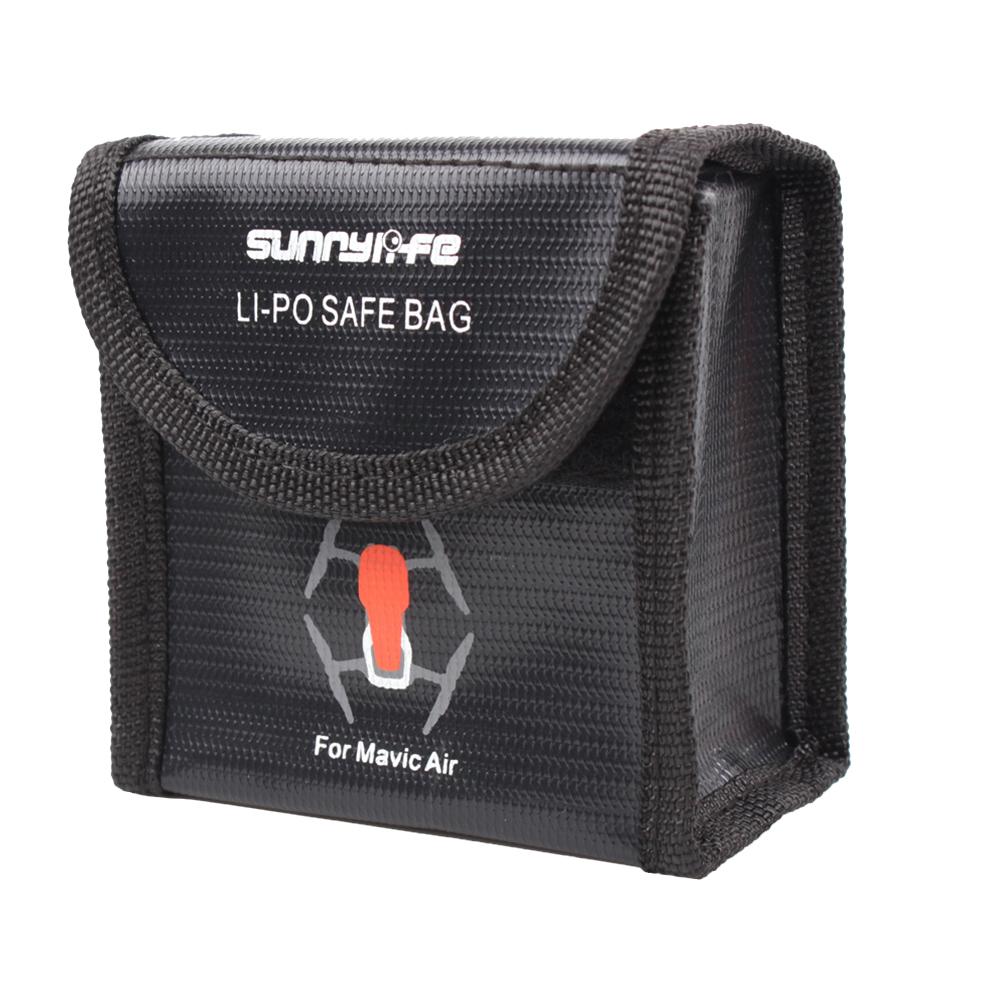 Sunnylife Battery Safe Bag Protective Explosion-proof Storage Bag Batteries Protection Organizer for DJI MAVIC AIR