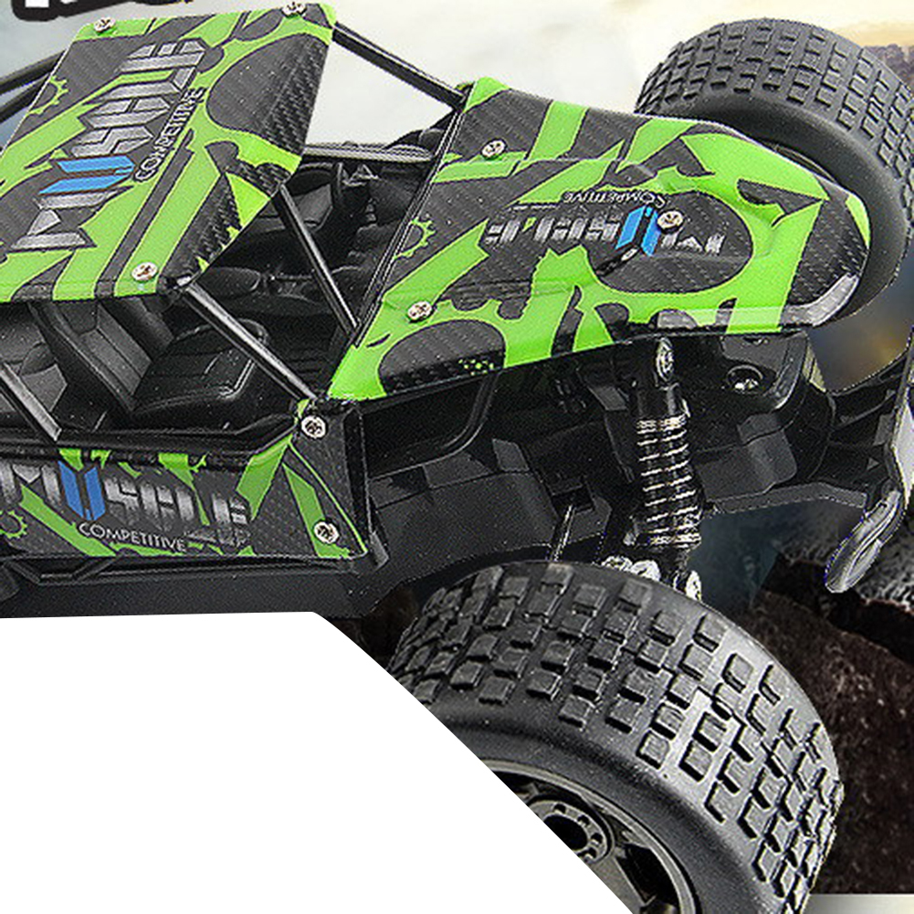 High Spped RC Cars 2.4GHz 1:18 RC Car RTR Shock Absorber PVC Shell Off-road Race Vehicle Buggy Electronic Remote Control Car Toy